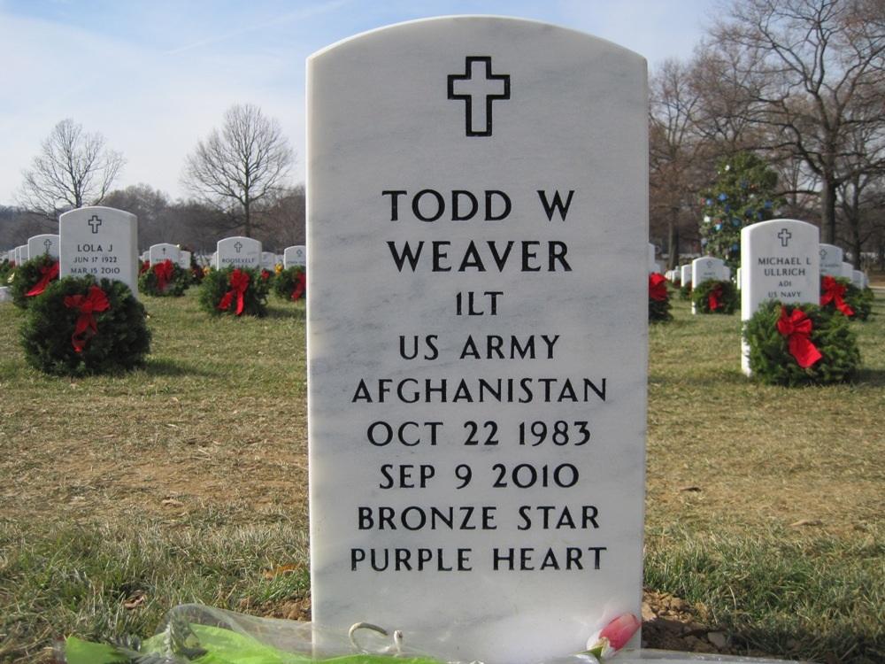 1LT Todd W. Weaver 3