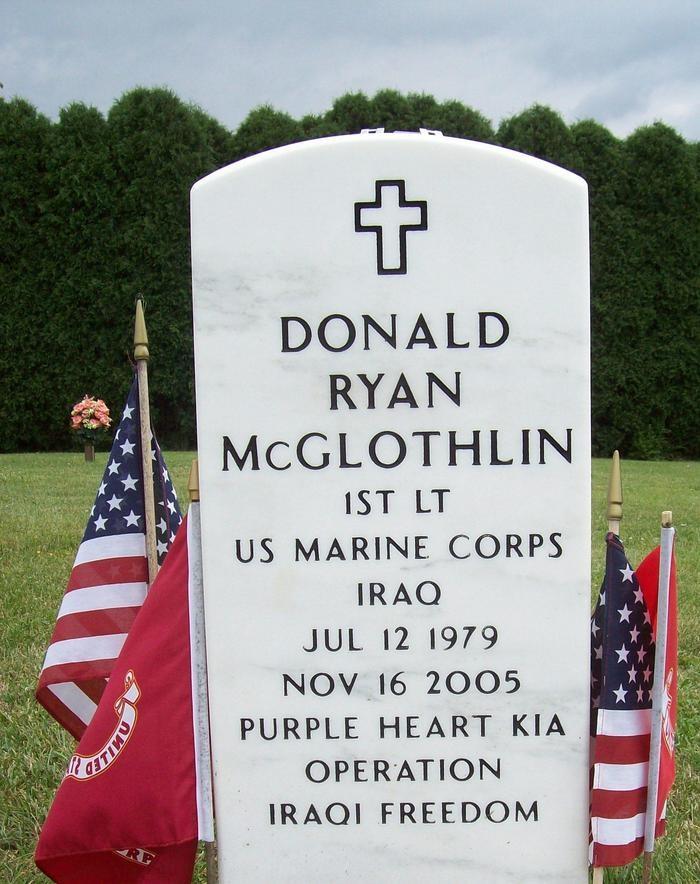 2ndLt Donald R. McGlothlin 3