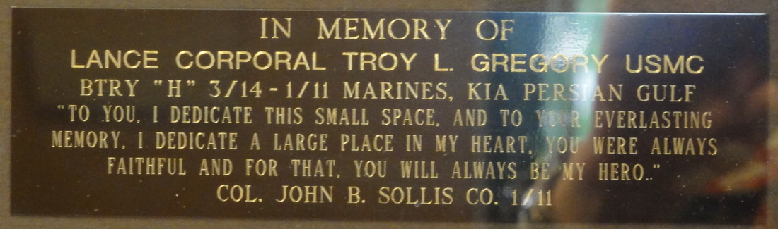 LCpl. Troy L. Gregory