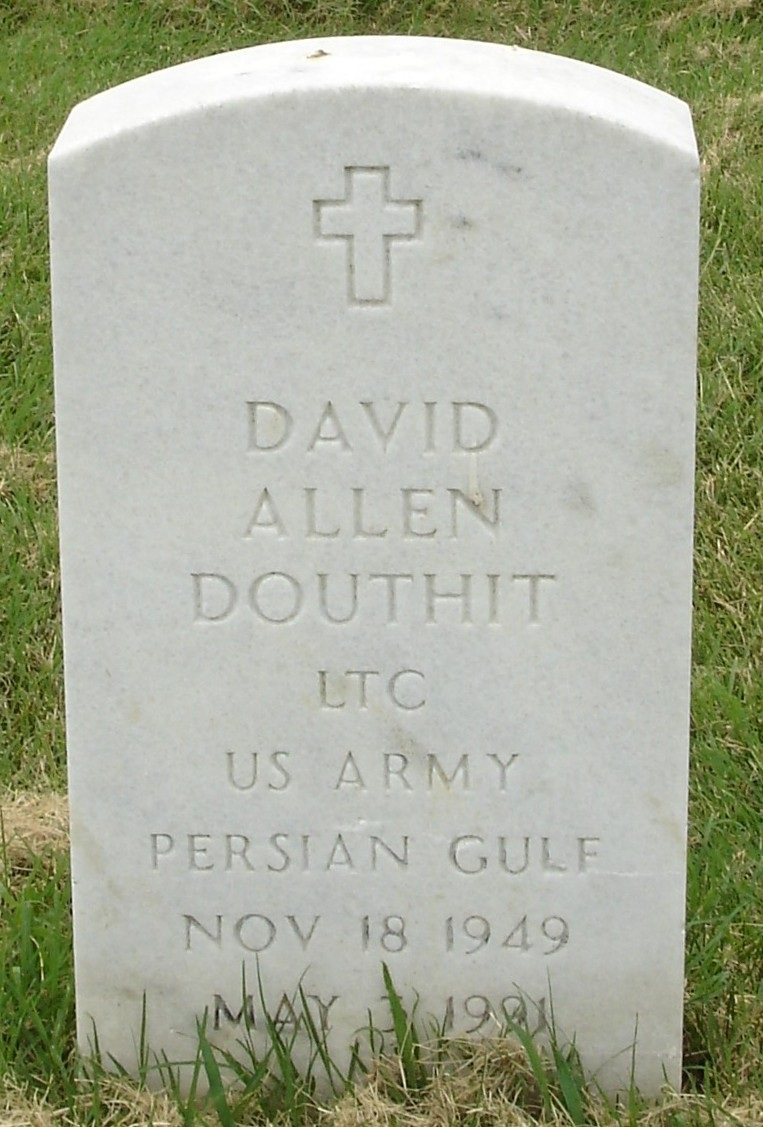 Lt. Col. David A. Douthit