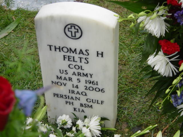 COL Thomas H. Felts 3
