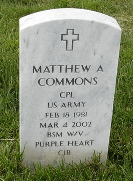 CPL Matthew A. Commons 3