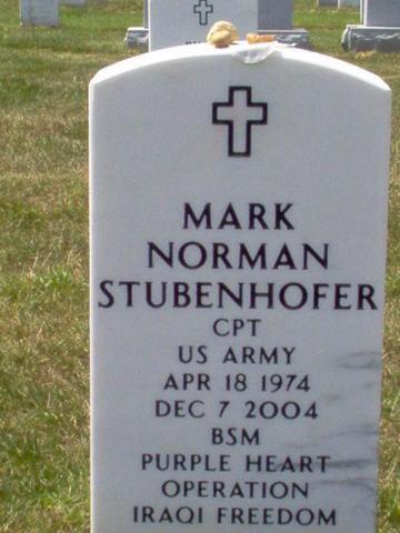 CPT Mark N. Stubenhofer 3
