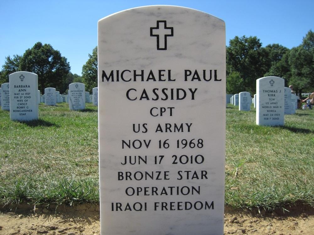 CPT Michael P. Cassidy 3