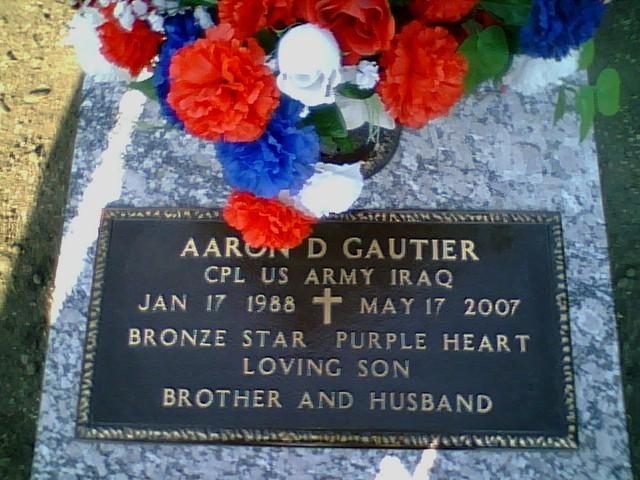 Cpl Aaron D. Gautier 3