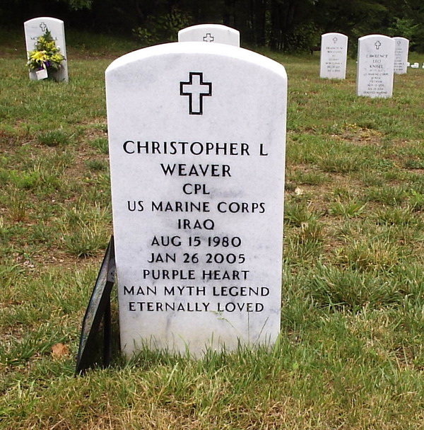 Cpl Christopher L. Weaver 2