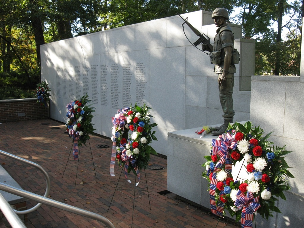 They Came In Peace! Beirut Memorial, Jacksonville, NC Name on Tenth Panel.