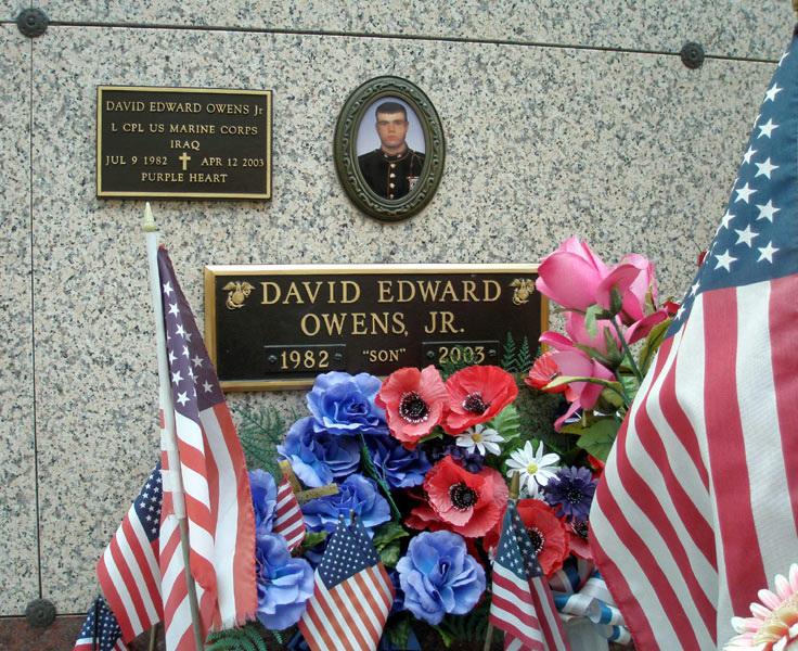 LCpl David E. Owens 3