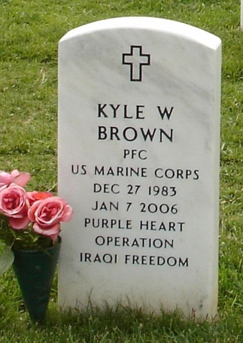 LCpl Kyle W. Brown 2