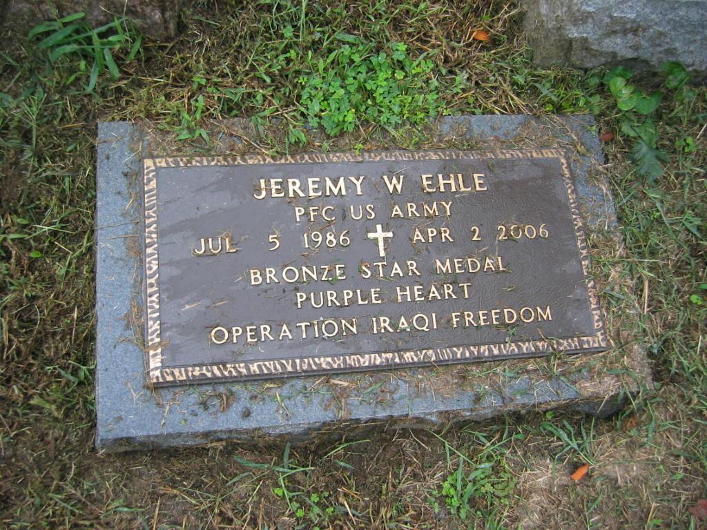 PFC Jeremy W. Ehle 3
