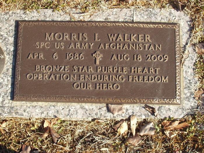 PFC Morris L. Walker 4