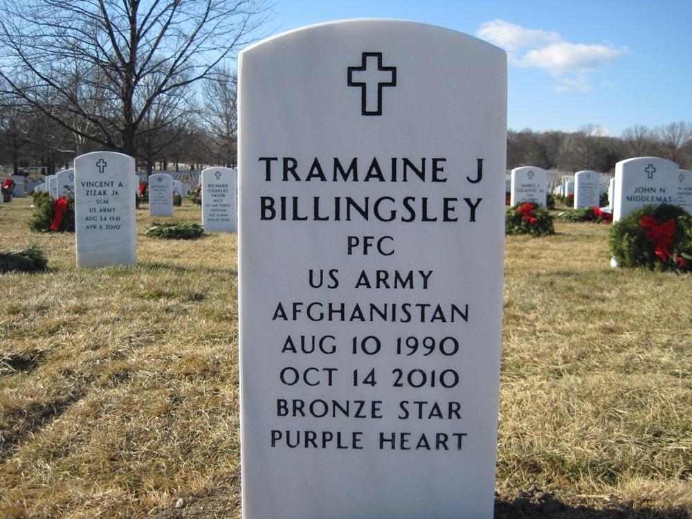 PFC Tramaine J. Billingsley 4