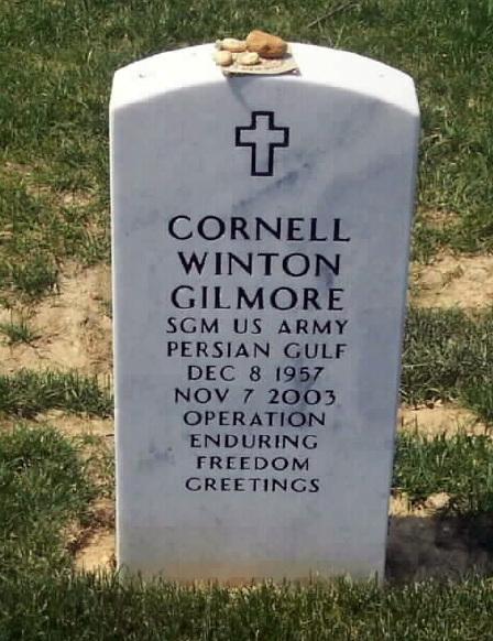 SGM Cornell W. Gilmore 2