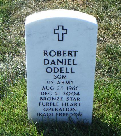 SGM Robert D. Odell 2