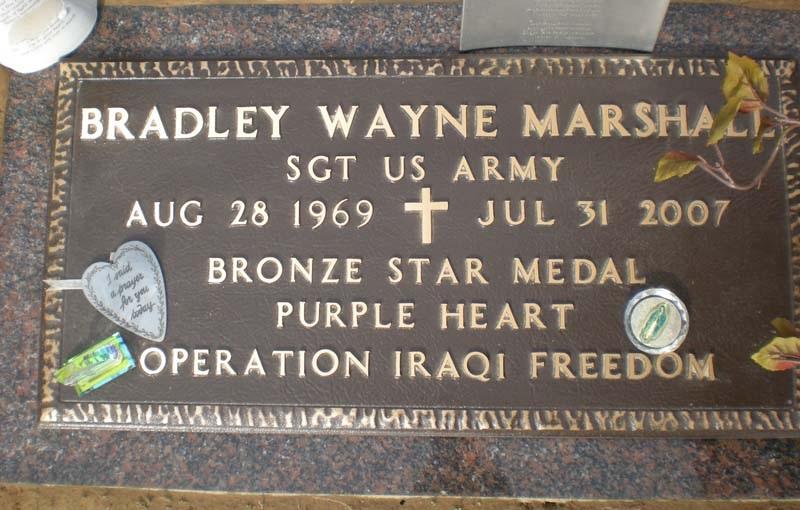 SGT Bradley Wayne Marshall 3