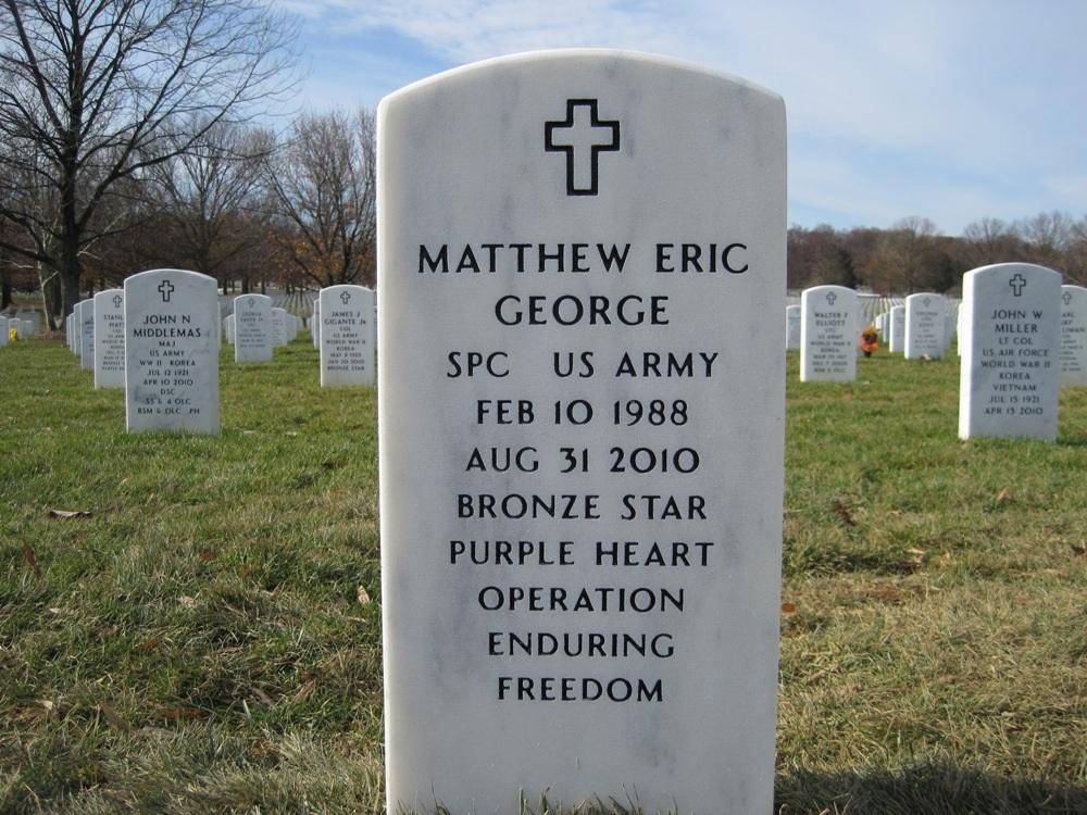 SPC Matthew E. George 3