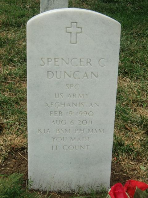 SPC Spencer C. Duncan 4