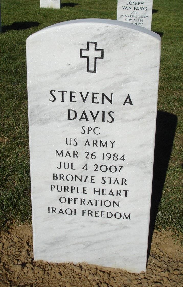 SPC Steven A. Davis 4