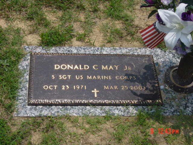 SSgt Donald C. May 4