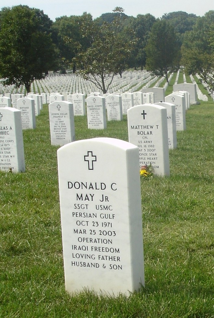 SSgt Donald C. May 5