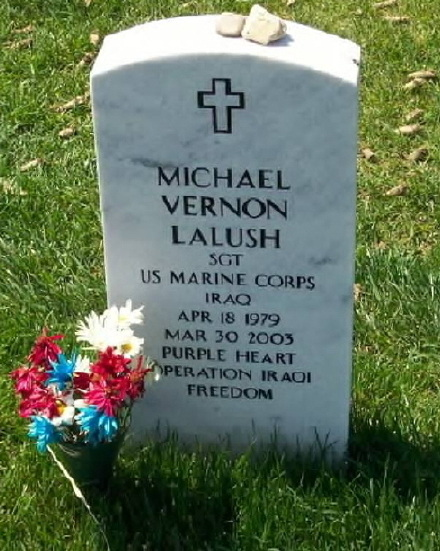 Sgt Michael V. Lalush 2