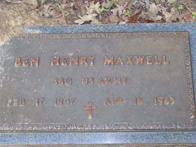 Staff Sgt. Ben H. Maxwell 2
